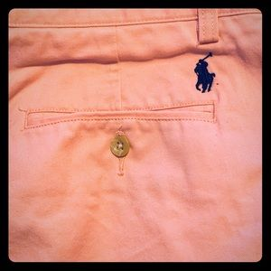 New! Men's Pink, Polo Ralph Lauren khaki Pant